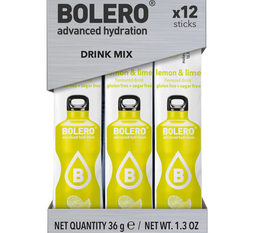 Bolero  Sticks, smaak Lemon & Lime (12x3 gram)