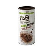 AMSPORT Vegan Protein (lactosevrij), blikje van 450 g, Chocolade