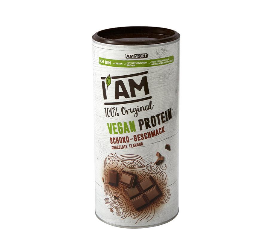 Vegan Protein (lactosevrij), blikje van 450 g, Chocolade