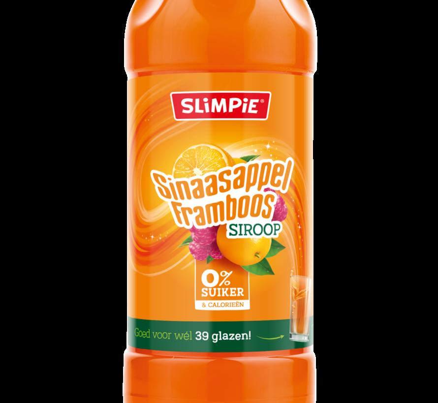 Sinaasappel-framboos 0% suiker 0,65 liter
