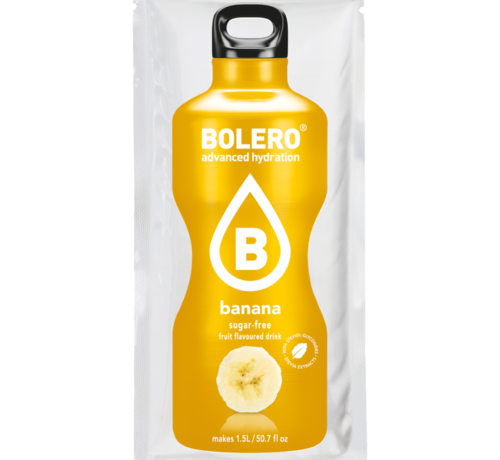 Bolero  limonade Drinks, Banaan (1x9 gram)