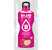 Bolero  Drinks, Banana & Strawberry (1x9 gram)
