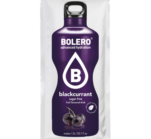 Bolero  limonade Drinks, Blackcurrant (1x9 gram)