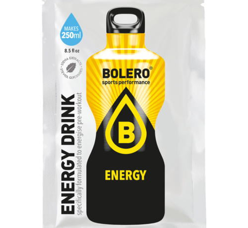 Bolero  limonade Drinks, Energy drink (1x7 gram)