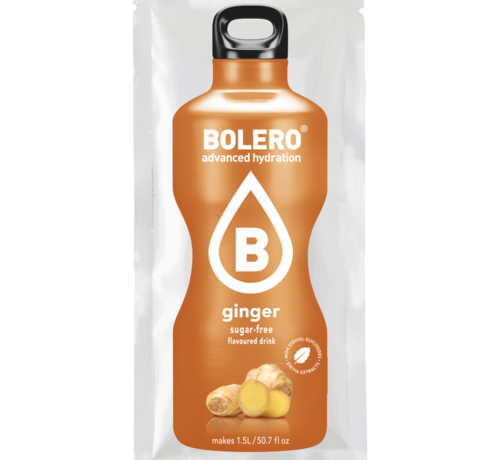 Bolero  limonade Drinks, Ginger (1x9 gram)
