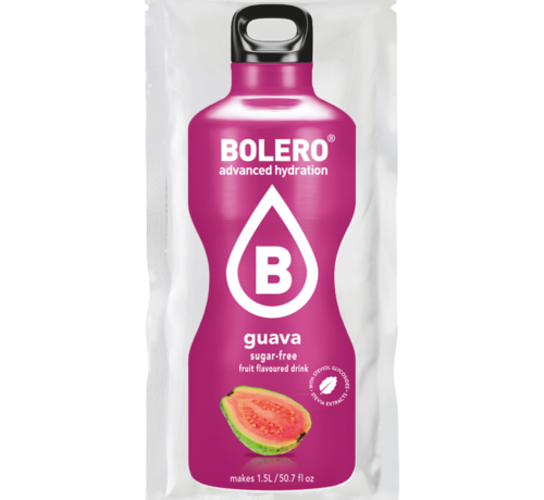 Bolero  limonade Drinks, Guava (1x9 gram)