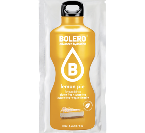 Bolero  limonade Drinks, Lemon Pie (1x9 gram)