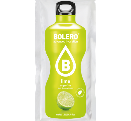 Bolero  limonade Drinks, Lime (1x9 gram)