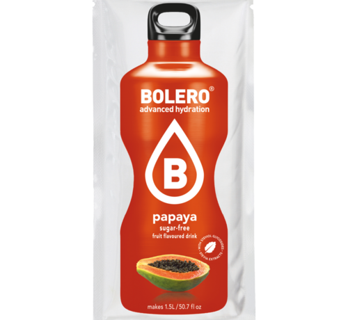 Bolero  limonade Drinks, Papaya (1x9 gram)
