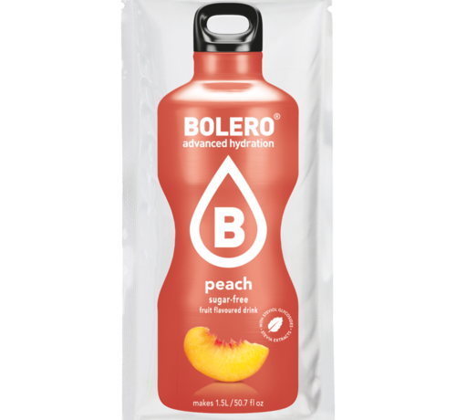 Bolero  limonade Drinks, Peach (1x9 gram)