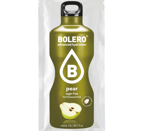 Bolero  limonade Drinks, Pear (1x9 gram)