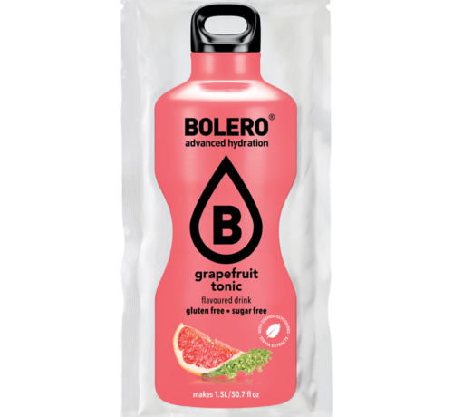 Bolero  limonade Drinks, Grapefruit Tonic (1x9 gram)