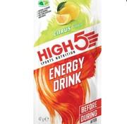 HIGH5 Energy drink zakje citrus, 47 gram.