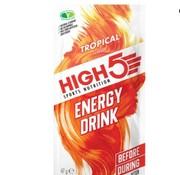 HIGH5 Energy drink zakje tropical, 47 gram.