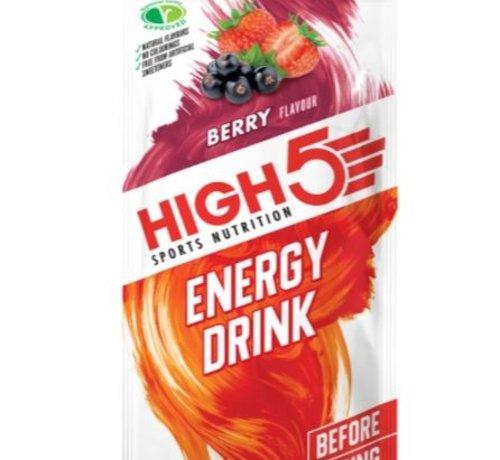 HIGH5 Energy drink zakje berry. Isotone energydrank 47 gram.