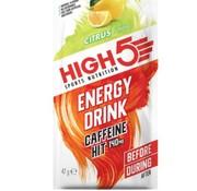 HIGH5 Energy drink cafeïne hit zakje citrus, 47 gram.