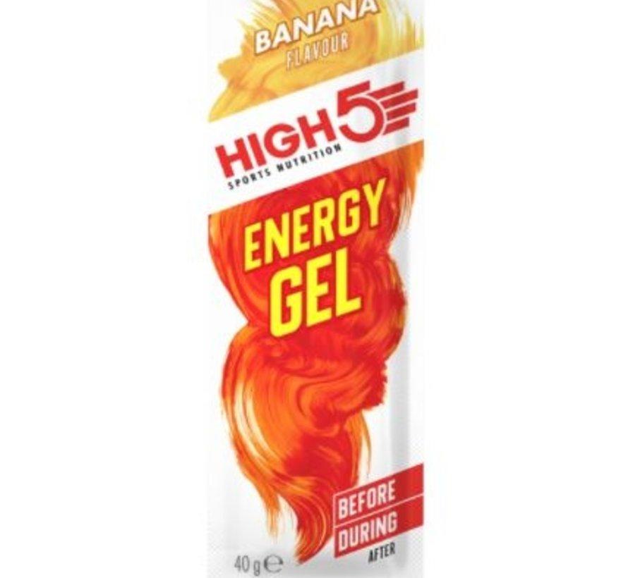 Energy gel sachet banana, 40 gram.