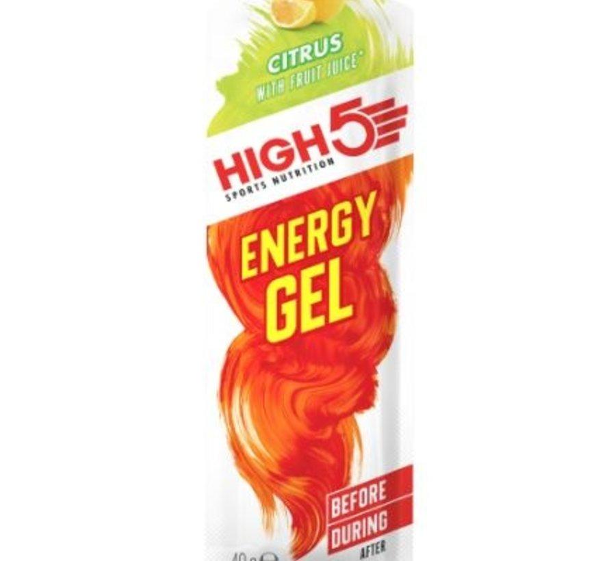 Energy gel sachet citrus, 40 gram.