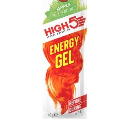 HIGH5 Energy gel sachet apple, 40 gram.
