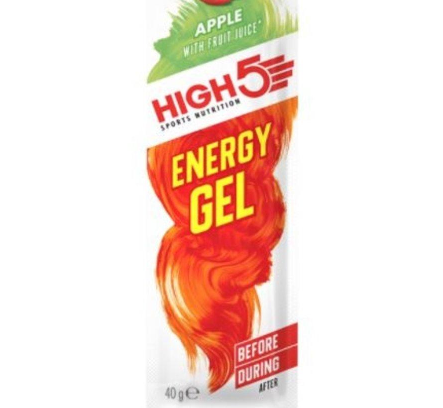 Energy gel sachet apple, 40 gram.