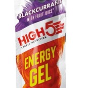 HIGH5 Energy gel sachet blackcurrant, 40 gram.