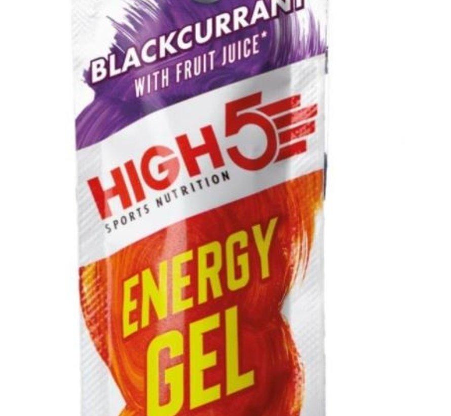 Energy gel sachet blackcurrant, 40 gram.