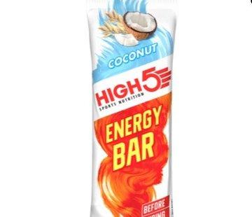 HIGH5 Energy bar coconut, 55 gram.