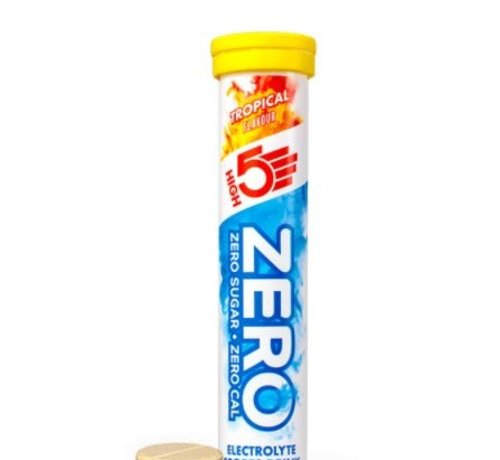 HIGH5 Zero active Hydration drink, 1 tube met 20 tabletten, tropical,