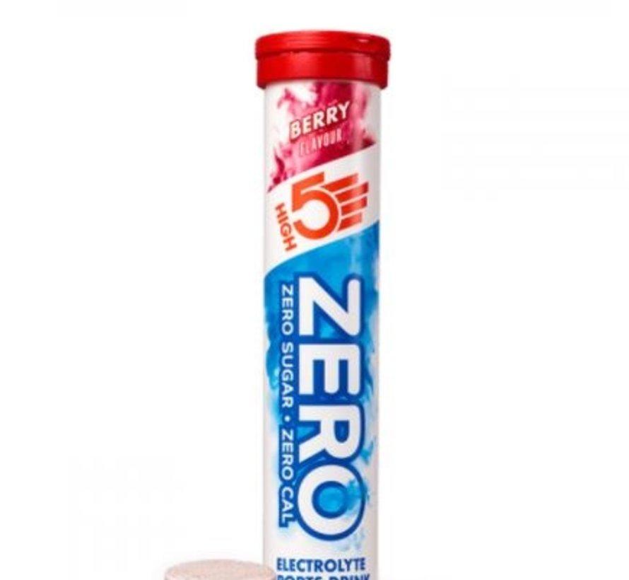 Zero active Hydration drink, 1 tube met 20 tabletten, berry.