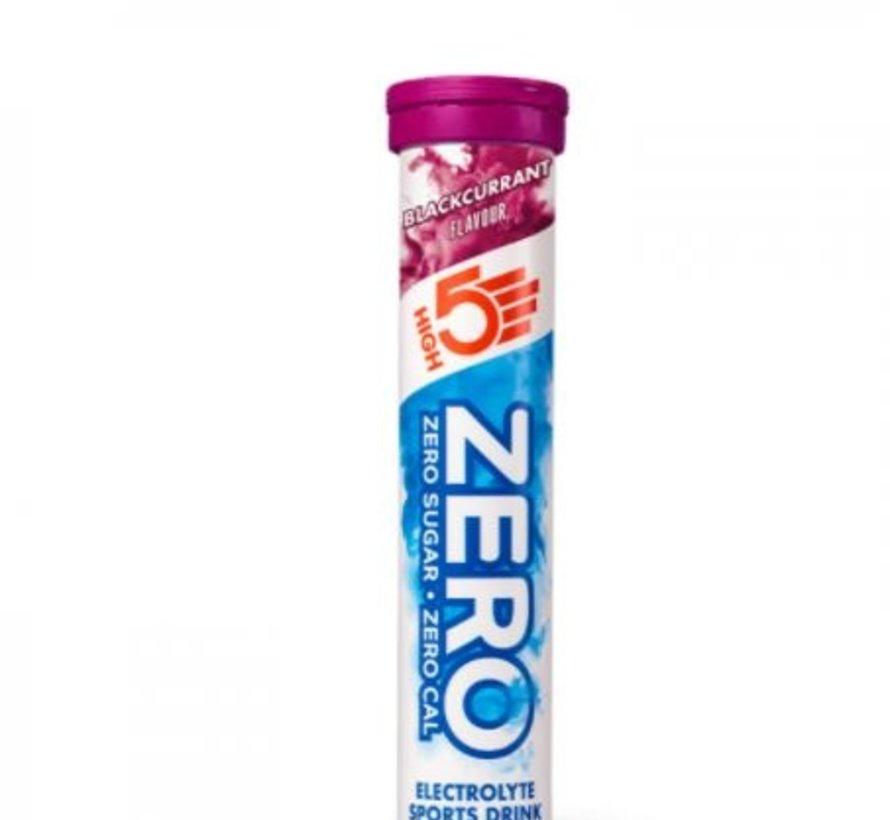 Zero active Hydration drink, 1 tube met 20 tabletten, blackcurrant.