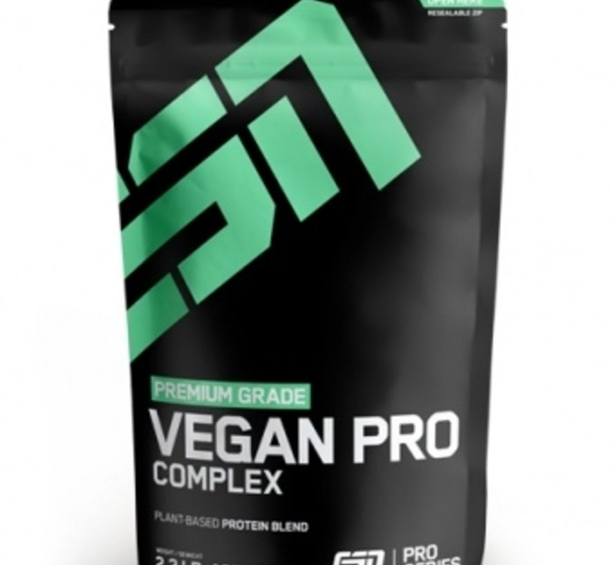 Vegan Pro Complex eiwit, Hazelnut Nougat 1000 gram