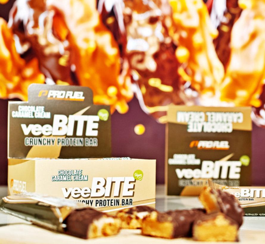 VeeBite eiwitreep Chocolade Caramel (60 gram)