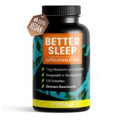 ProFuel Melatonine better sleep - 120 zuigtabletten - citroen smaak
