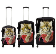 travelsuitcase 3 delig kofferset Cat II