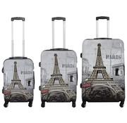 travelsuitcase 3 delig kofferset Paris II