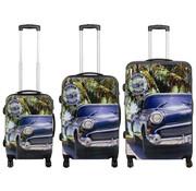 travelsuitcase 3 delig kofferset Havanna