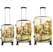 travelsuitcase 3 delig kofferset Venetië
