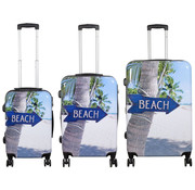 travelsuitcase 3 delig kofferset Beach