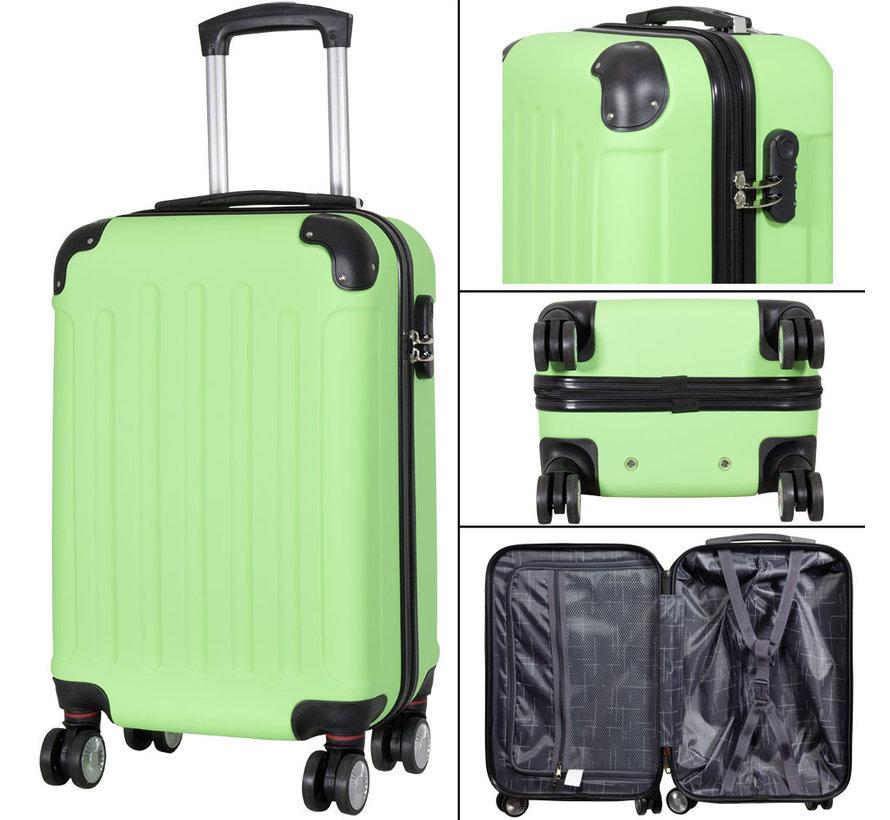 3 delig kofferset Diva Deluxe -  Groen