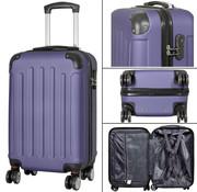 travelsuitcase koffers Diva Deluxe. Blauw