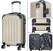 travelsuitcase koffers Diva Deluxe. Champagne