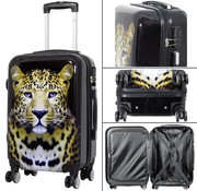 travelsuitcase koffers Leopard