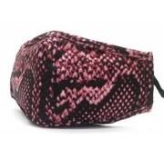 travelsuitcase Gezichtsmaskers Snake pink