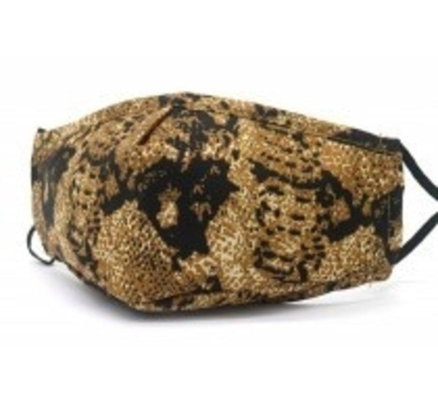 Gezichtsmaskers Snake Bruin