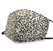 travelsuitcase Gezichtsmasker Leopard Blue