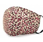 travelsuitcase Gezichtsmasker Leopard Pink