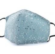 travelsuitcase Glitter gezichtsmasker Blue