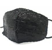 travelsuitcase Glitter gezichtsmasker Zwart