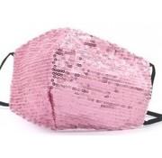 travelsuitcase Glitter gezichtsmasker Rose