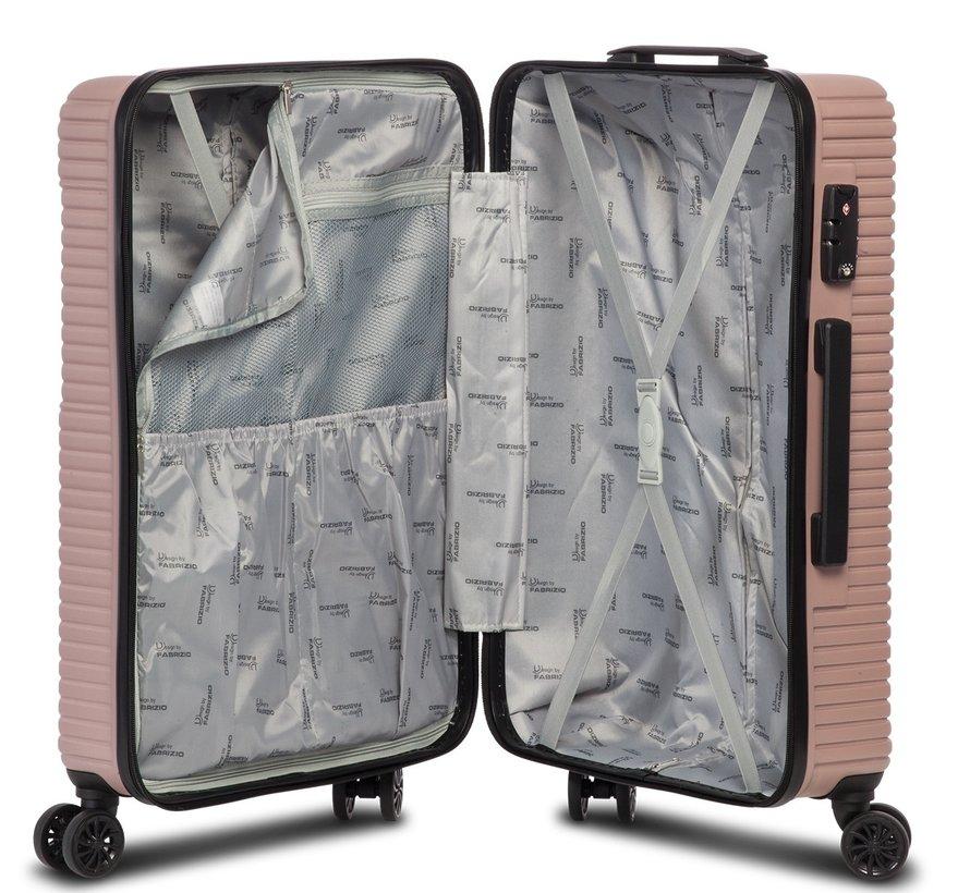 Breeze kofferset 36/61/96 liter taupe 3-delig